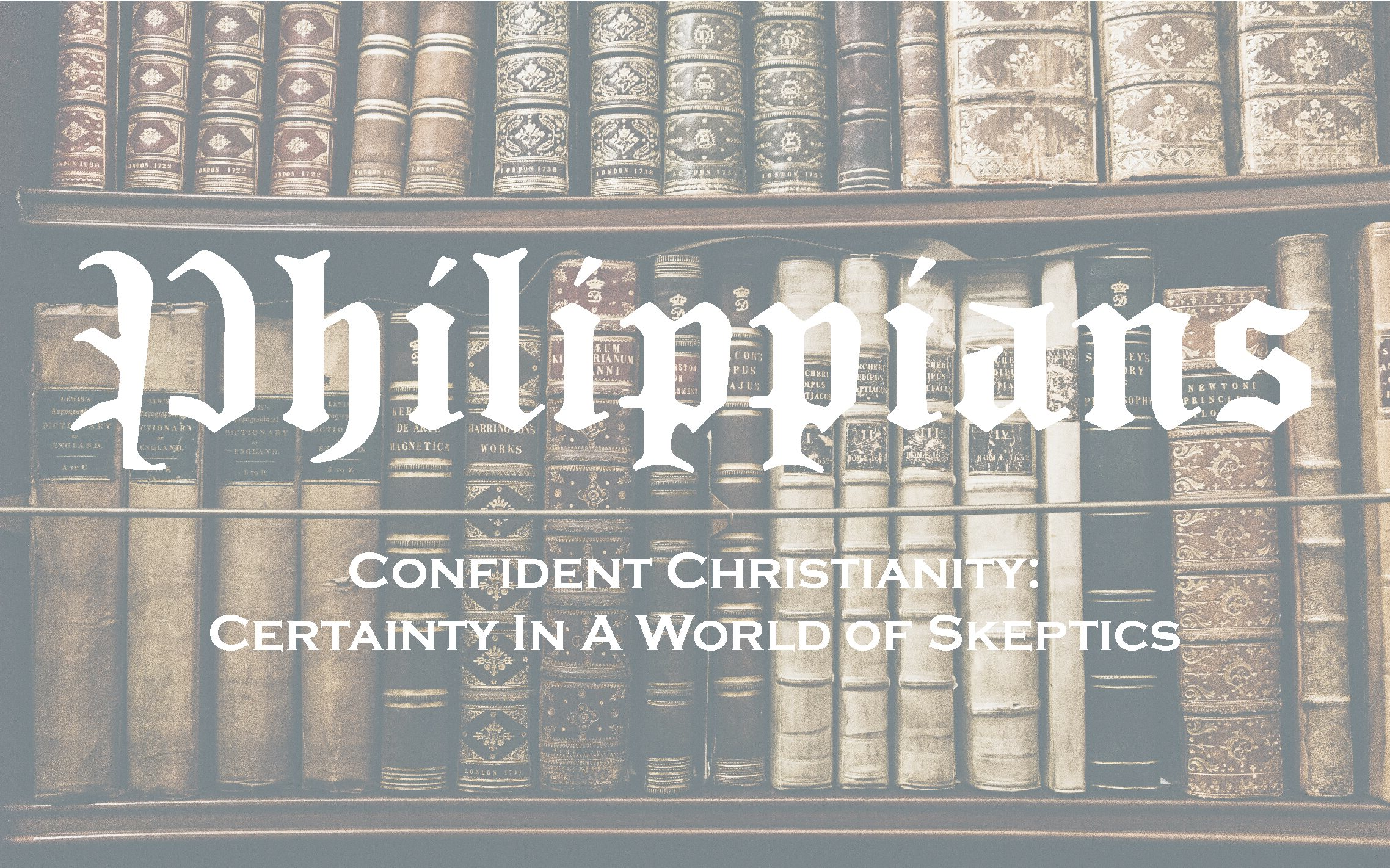 Deceived and Delighted: Self-Confidence in Light of Scripture